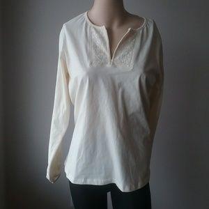 Nwt Classic Elements Size Large Women's blouse